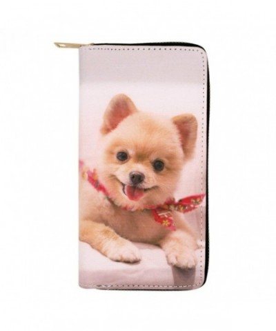 Adorable Animal Leather Around Wallet