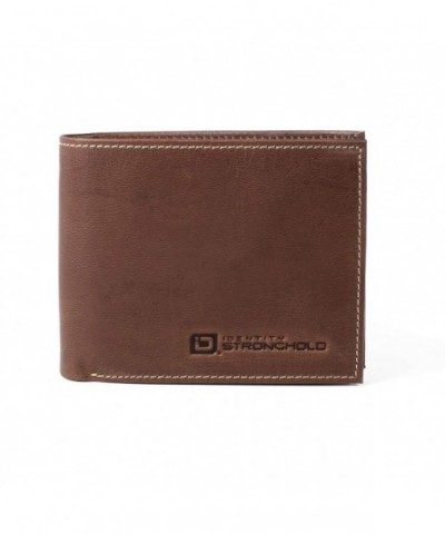 Genuine Leather Bifold Protection Throughout