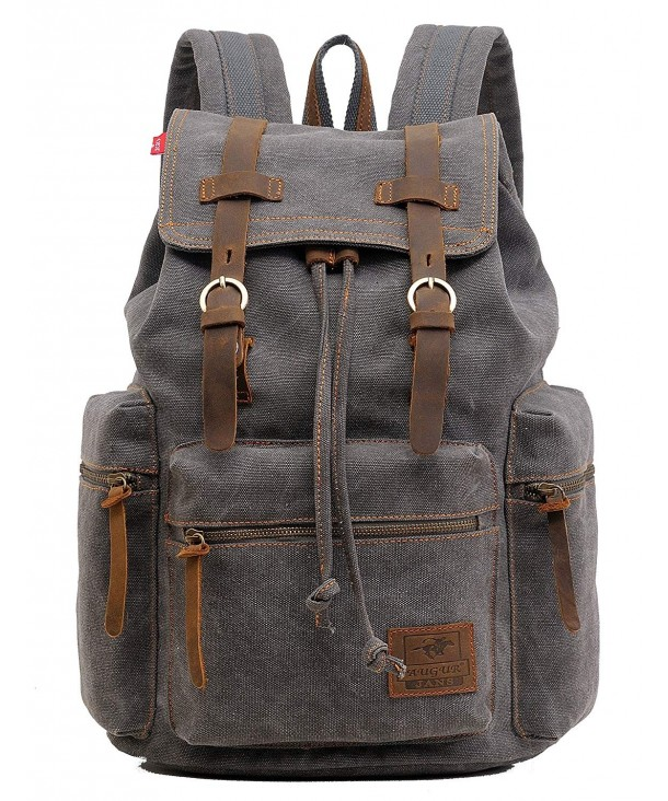 Genda 2Archer Multifunctional Canvas Backpack