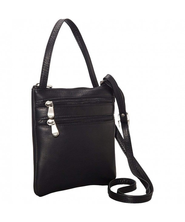 Donne Leather Two Crossbody Minibag