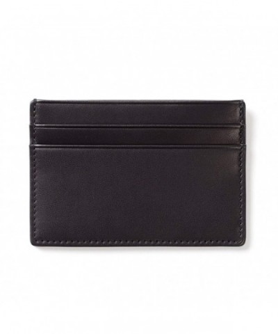 Leather Wallet Credit Sleeve Holder