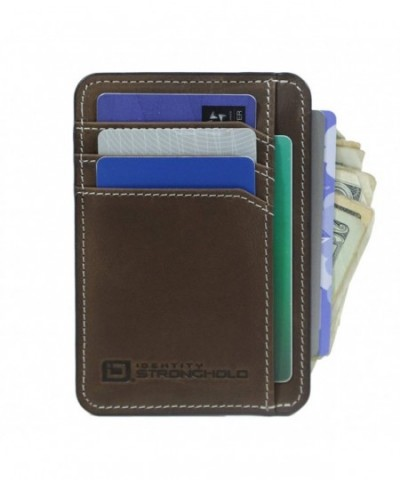 ID Stronghold Minimalist Genuine Leather