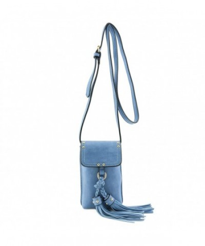 Phone Pouch Crossbody Tassel Accent