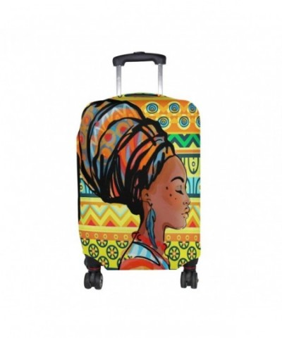African Striped Luggage Suitcase Protector