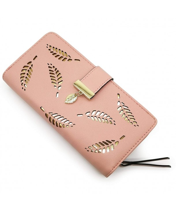 Womens Wallet Leather Holder Bifold