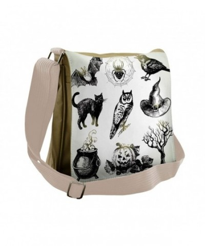 Lunarable Vintage Halloween Messenger Cross body