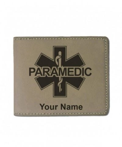 Leather Paramedic Personalized Engraving Included