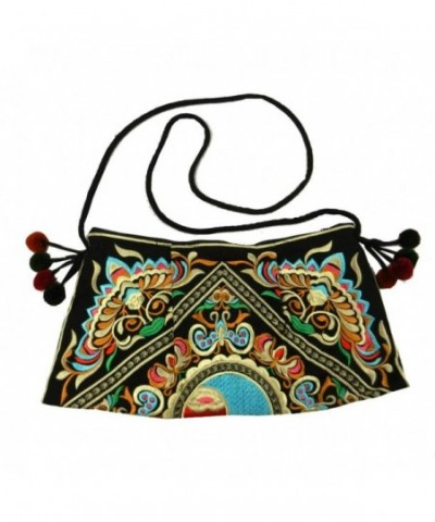 Swingpack Ethnic Embroidered Crossbody Shoulder