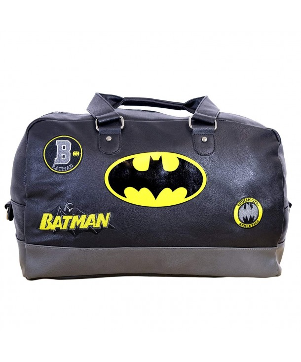Batman Fanboy Duffel Embroidered Patches