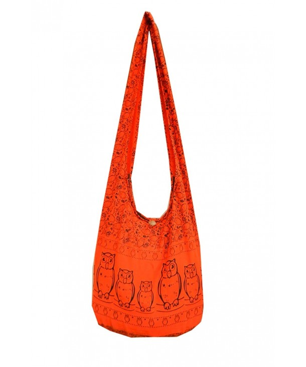 Hippie Sling Shoulder Messenger Orange