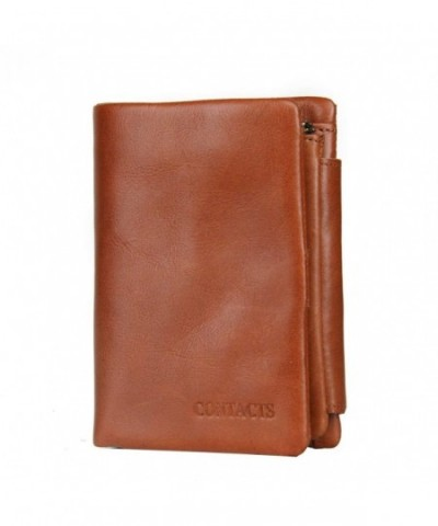 Contacts Genuine Leather Trifold Wallet