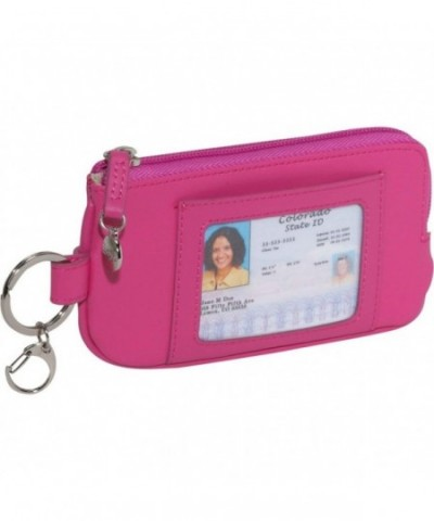 Royce Leather Credit Wallet Wildberry