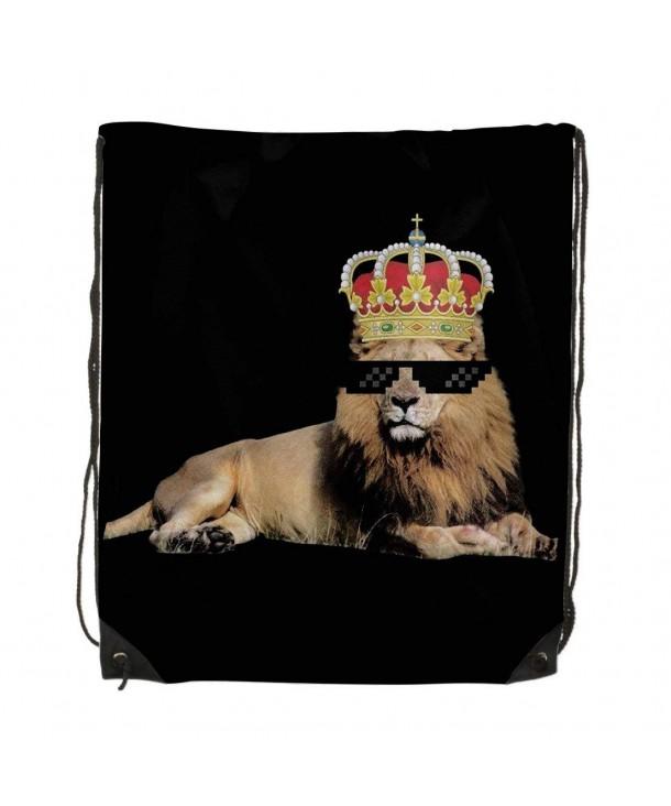 Drawstring Shoulder Backpack Rucksack Handbag