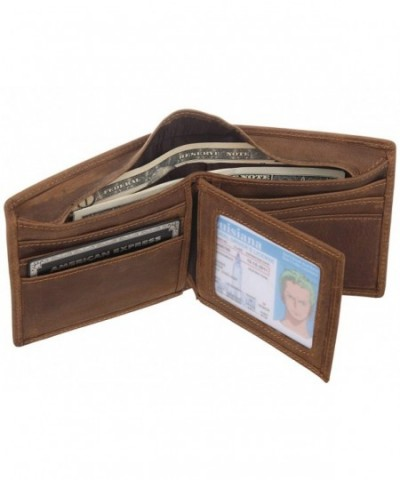 Polare Leather Trifold Wallet Classic