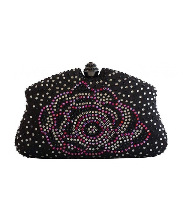 Chicastic Rhinestone Clutches Evening Handbags