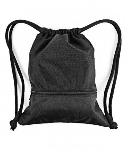 Drawstring Backpack Sackpack Traveling Basketball