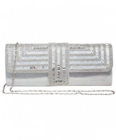Rhinestone Evening Clutch Wedding Handbag