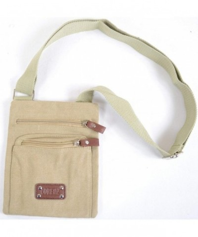 Handy Unisex Canvas Shoulder Cross