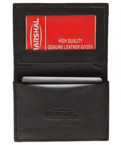 Leather Business Holder Expandable Wallet
