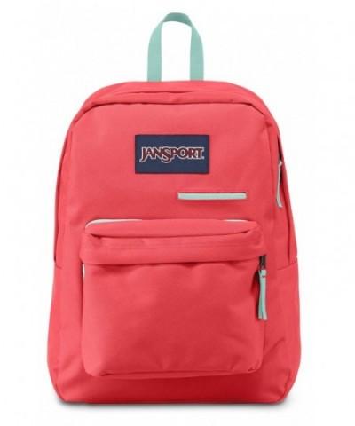 JanSport Digibreak Backpack Coral Dusk