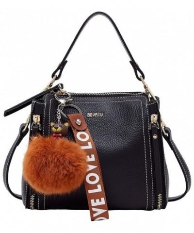 BOYATU Fashion Handbag Leather Shoulder