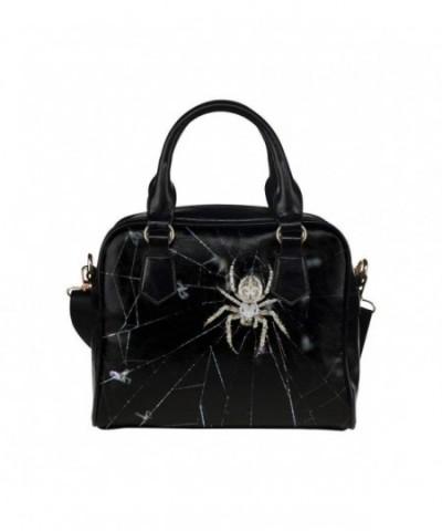 LEINTEREST Spider Women Handbag Shoulder