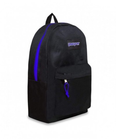 Trailmaker Backpack Bookbag Blue Zippers