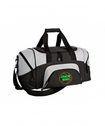 Basketball Personalized Colorblock Duffle Travel