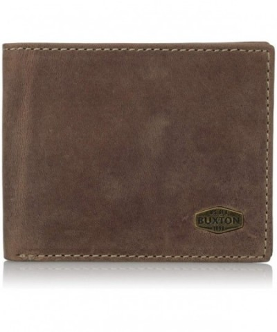 Buxton Expedition Blocking Leather Wallet