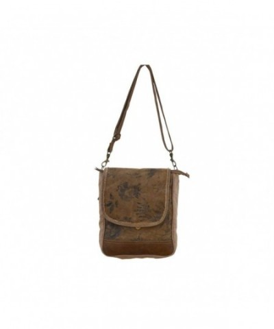 Clea Ray Recycled Leather Messenger