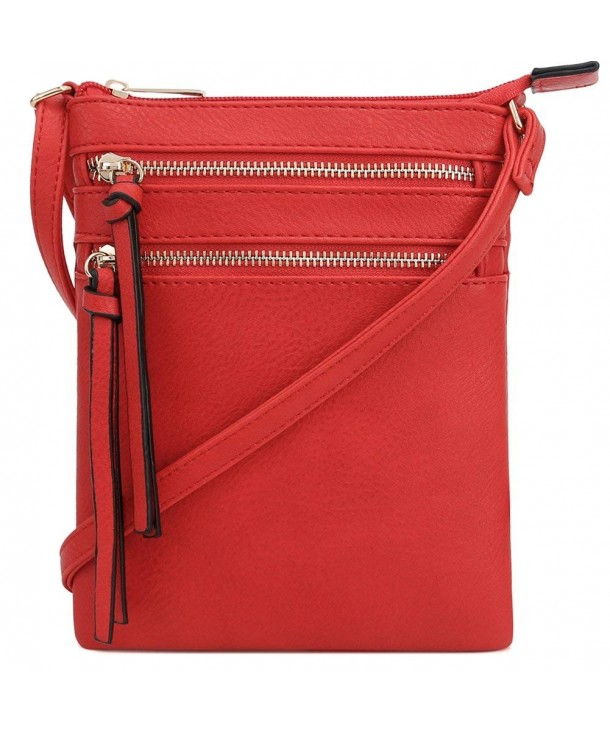 VOCUS Genuine Leather Crossbody Functional
