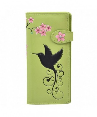 Shagwear Womens Large Wallet Hummingbird