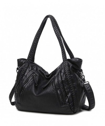 Mn Sue Slouchy Leather Shoulder