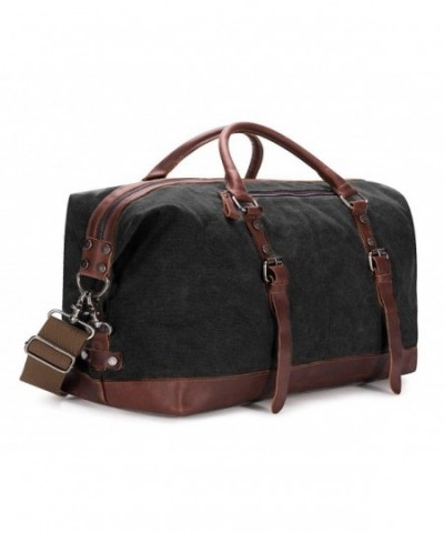 BAOSHA Oversized Leather Weekender Overnight