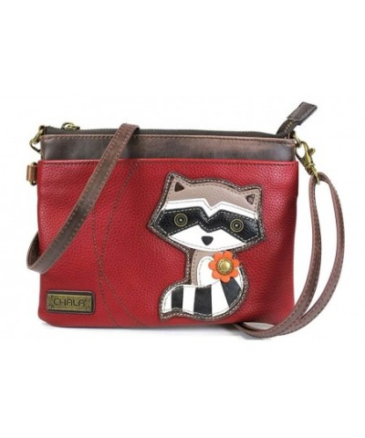 Chala Mini Crossbody Raccoon Burgundy
