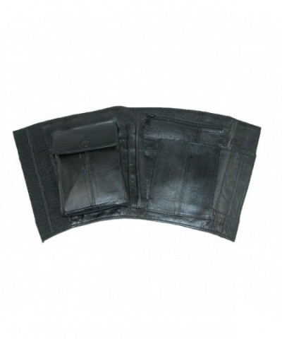 CTM Leather Travel Security Wallet