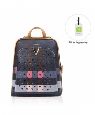 RenDian Fashion Backpack Leather Shoulder