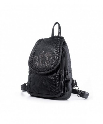 Katloo Backpack Purses Leather Clipper