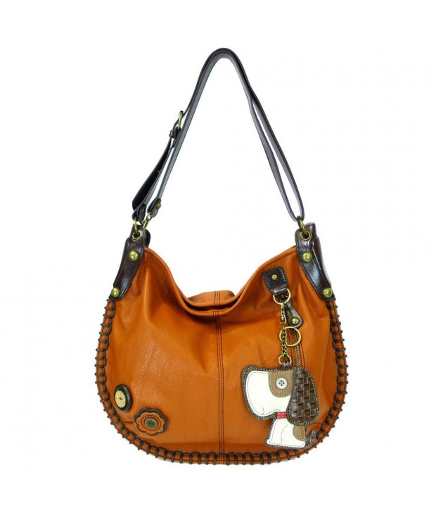 Handbag Charming Brownish leather CONVERTIBLE