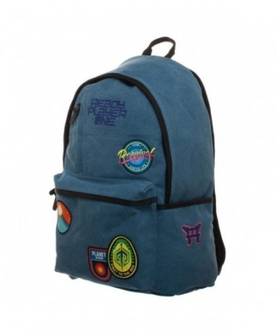 Patches Knapsack Character Inspired Backpack