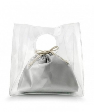 Minimalist Handbag Womens Clutch Drawstring