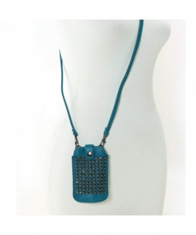 WonderMolly Leather Studded Cellphone Holder