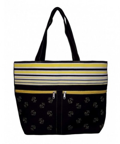 Anchor Striped Beach Front Pockets