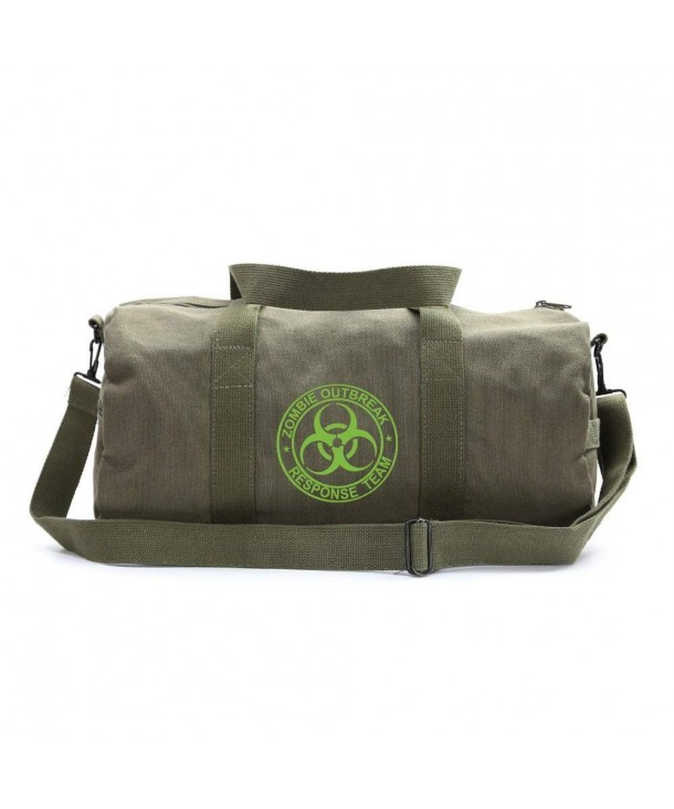 Zombie Outbreak Response Heavyweight Canvas
