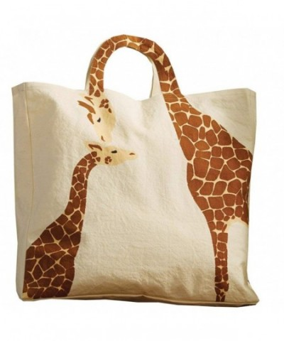 Womens Loving Giraffes Tote Bag