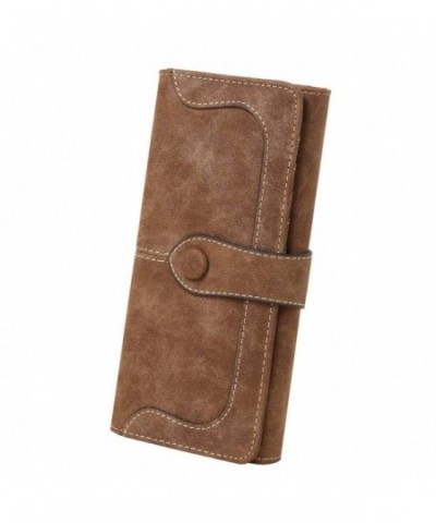 Womens Leather Holder Bifold Wallet