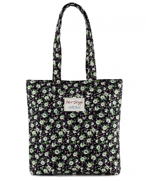 Floral Shopper Grocery Practise Shoulder