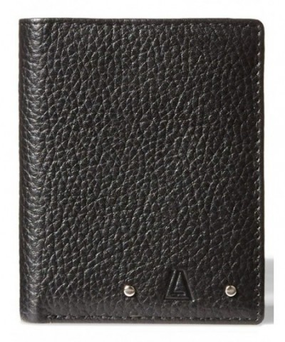 Leather Architect Blocking Bifold Wallet