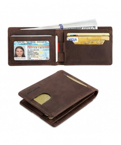 Vemingo Wallets Genuine Leather Blocking