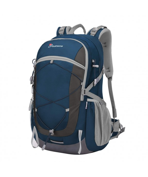 Mountaintop Unisex Camping Backpack Sapphire